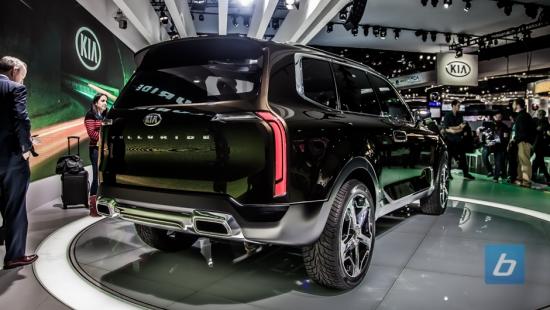 Kia Telluride Concept Detroit Naias 2016 15