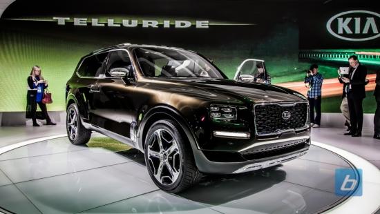 Kia Debuts The 400hp Hybrid Telluride Concept