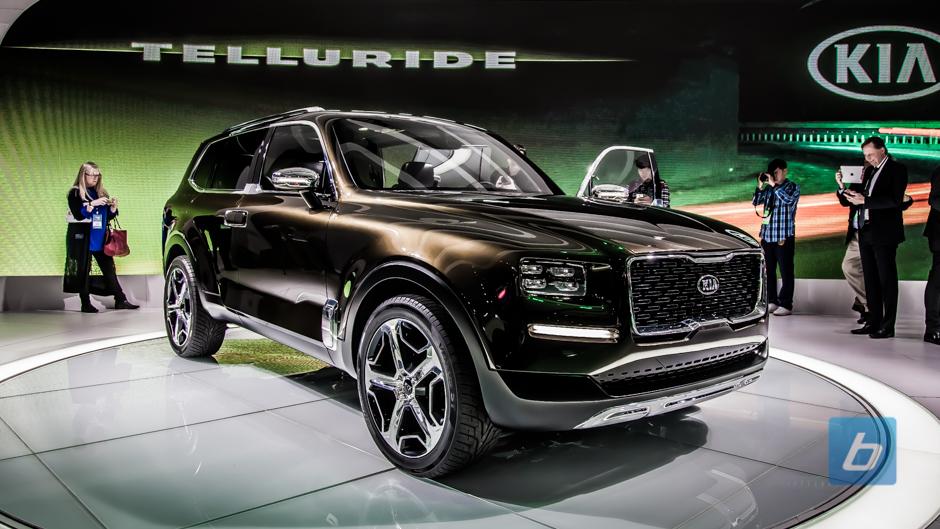 Kia Telluride Concept Detroit Naias 2016 2