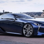 Lexus LC500 Powers Up