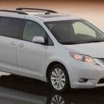 Toyota Sienna Gets Onboard Vacuum