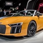 Audi R8 Spyder Makes Global Debut at NY Auto Show