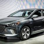 Hyundai Ioniq Trio Makes North American Debut