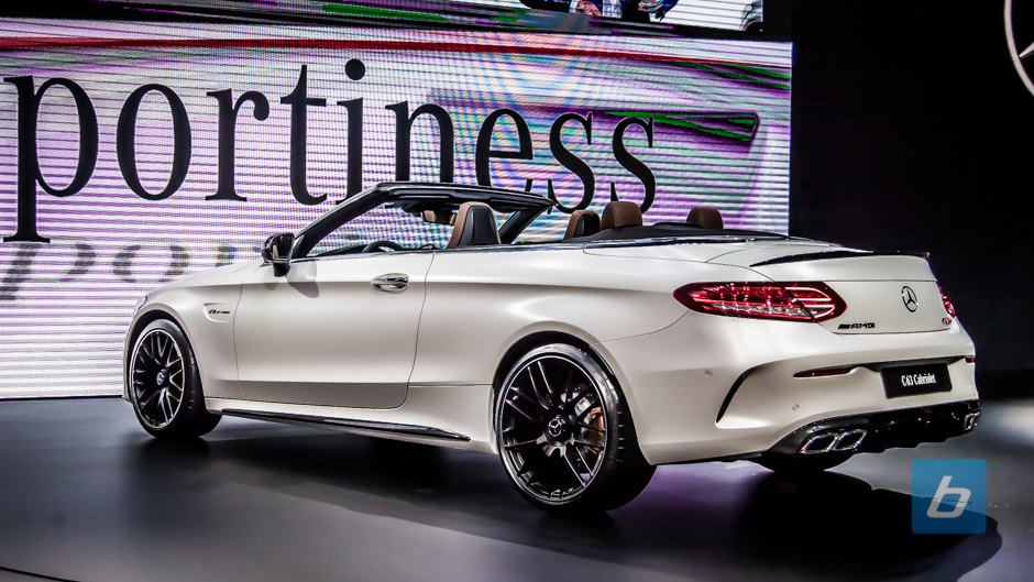 2017 mercedes amg c63s cabriolet nyias 7 for Drop top mercedes benz prices