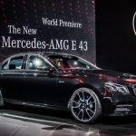 Mercedes-AMG E43 Unveiled in New York