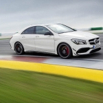 Mercedes CLA45 AMG gets a new Look for New York