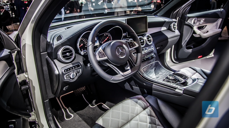 to post   mercedes all new glc coupe and glc43 on stage in new york