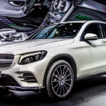 Mercedes All New GLC Coupe and GLC43 on Stage in New York