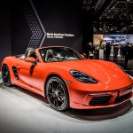Porsche at the 2016 New York Auto Show
