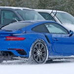 Porsche 911 GT2 RS Spied Winter Testing
