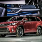 Toyota Highlander Gets Refreshed for 2017