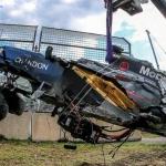 Alonzo's Horrific Crash in Australia