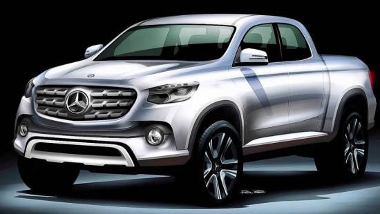 Mercedes-pickup-truck