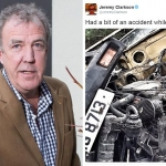 Jeremy Clarkson Filming Accident