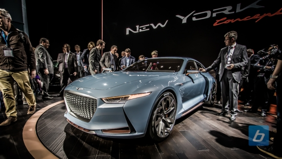 Genesis Launches Hybrid New York Concept