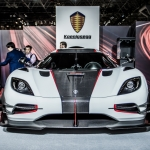 Koenigsegg One:1 at the Heart of New York Auto Show