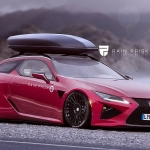 If the Lexus LC500 was a Wagon