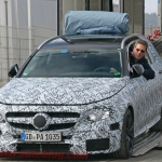 Mercedes AMG E63 Estate Spied