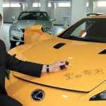 One of a Kind Lexus LFA Priced at $7.16M