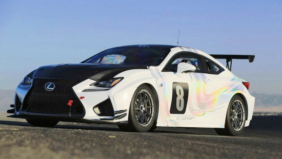 2015-Lexus-RCF-GT-Concept-Drops-900Lbs-For-Pikes-Peak-3