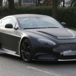 Aston Martin Vantage GT8 Spied Testing