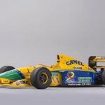 Schumacher's Benetton F1 Car Up for Auction in Monaco