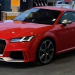 All New 2017 Audi TT RS