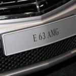 Mercedes' E63 AMG May Push 600 Horsepower