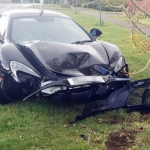 Brand New McLaren 650S Crashes