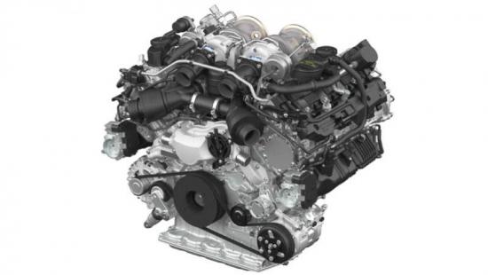Porsche-V-8-engine