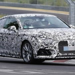 Audi A5 Coupe Spied