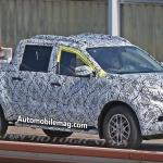 Mercedes GLT Truck Spied