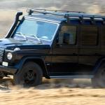 Mercedes' G Wagon Professional Edition