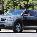 Volkswagen's New SUV Spotted