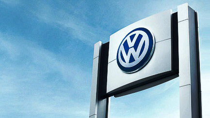 VW-sign