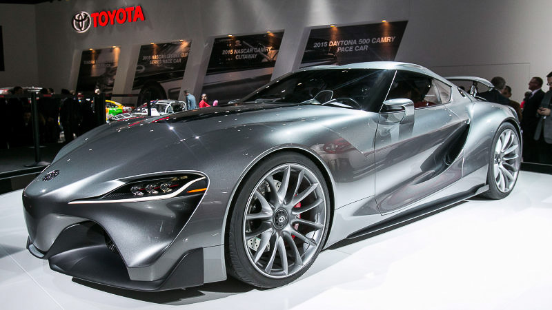 new toyota supra. Black Bedroom Furniture Sets. Home Design Ideas