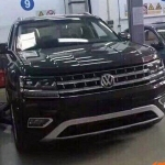 Volkswagen's Three Row SUV Spotted