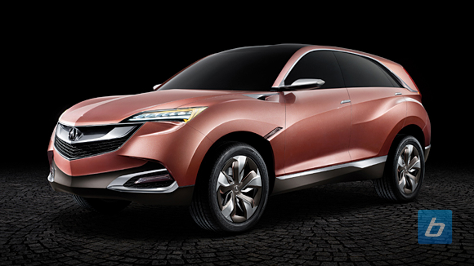 Shanghai: Acura Concept SUV-X Looks Like RDX Cranked to 11