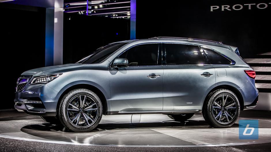 Acura Unveils MDX Prototype at NAIAS