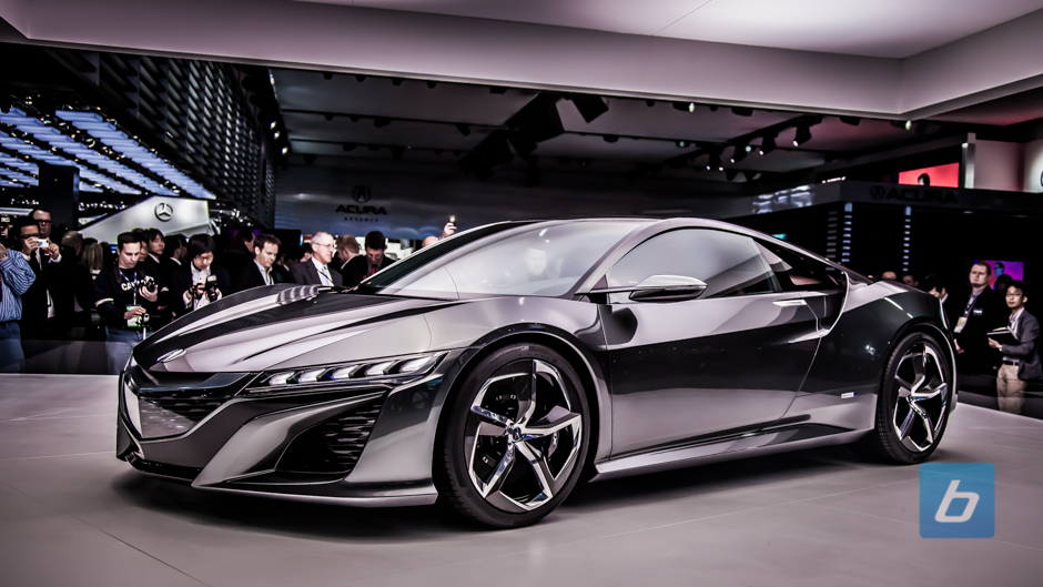 2015 Acura NSX To Get Twin-Turbo V6 Engine, 550 HP