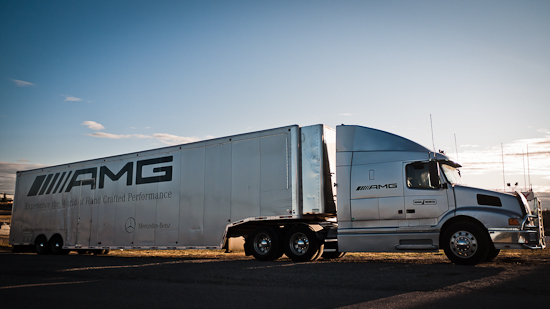 The AMG Transport Truck