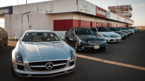7000 AMG Horses Lined Up