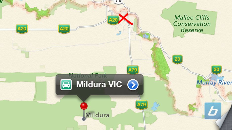Aussie Police: Apple Maps Flaw a Life Threatening Issue