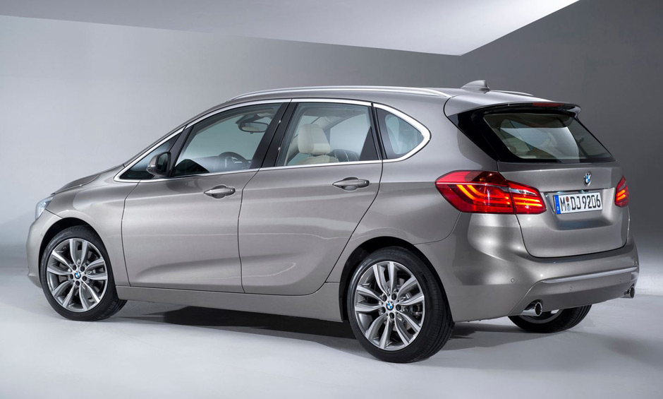 BMW Shows Off 2-Series Active Tourer