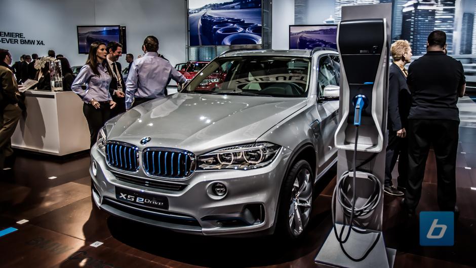 2015 Concept X5 eDrive NYIAS