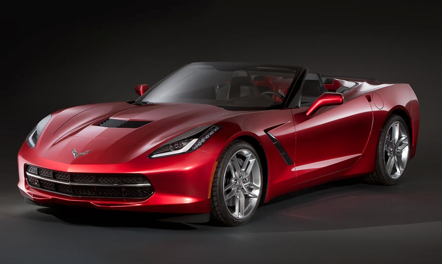 C7 Corvette Stingray Convertible to Debut in Geneva