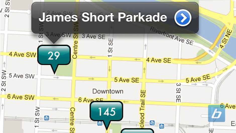 Calgary Parking Authority launches iPhone MyParking App
