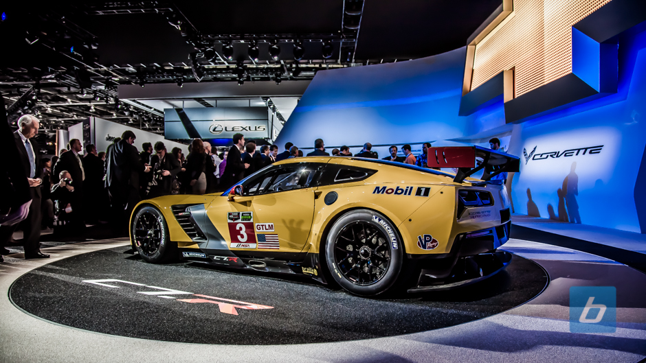 The Corvette Racing C7.R Is A Loud Vehicle