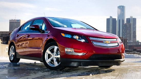 Chevy Volt Surpasses 100 Million Miles Mark