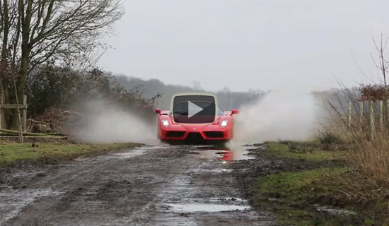 This Ferrari Enzo Is Not A Garage Queen. At All.